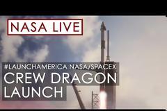 Η απ' ευθείας εκτόξευση του Crew Dragon απόψε στις 11.30