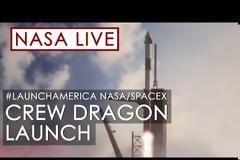 Επιτυχής η εκτόξευση της SpaceX στο Διάστημα