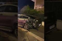 Audi R8 Spyder τρακάρει 13 σταθμευμένα αυτοκίνητα (video)