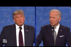 ΗΠΑ: Έντονη αντιπαράθεση με βαρείς χαρακτηρισμούς το πρώτο debate Τραμπ-Μπάιντεν ΒΙΝΤΕΟ