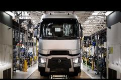 Manufacture of European trucks: Renault Trucks Production Factory
