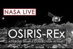 Το σκάφος OSIRIS-REx κατάφερε να αγγίξει τον αστεροειδή Μπενού για να συλλέξει δείγμα από την επιφάνειά του