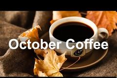 October Coffee Time Jazz - Warm Jazz Piano and Sax Music for Elegant Autumn Mood