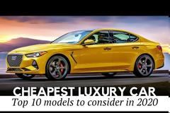 10 Cheapest Luxury Cars that Offer Premium Features While Being Affordably Priced from $23,000