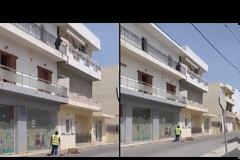 Κρήτη: Γυναίκα πετάει από τον δεύτερο όροφο τα σκουπίδια της - Είναι δουλεία σου λέει σε γυναίκα που καθαρίζει