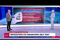 Περισσότερα και φθηνότερα self test - Ματαίωση διαγωνισμού
