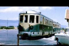 Νεμέα 1961 - Διάβαση τρένου