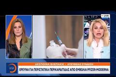 Εμβόλια mRNA: Έρευνα για περιστατικά μυοκαρδίτιδας και περικαρδίτιδας στην Ελλάδα