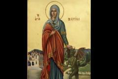 Ι. Μ. Αγίου Νικοδήμου Αγιορείτου Πυργετού: Ιερά Αγρυπνία  Αγίας Μεγαλομάρτυρος Μαρίνης