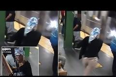 Τρομακτικό βίντεο: Γυναίκα σπρώχνει 42χρονη πάνω στο βαγόνι του μετρό που μόλις ερχόταν.