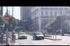Ξαναξεκίνησαν τα δοκιμαστικά δρομολόγια του τράμ στον Πειραιά [video]