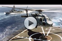Πολεμικό Ναυτικό - Άσκηση ΚΑΤΑΙΓΙΣ 2017: Δείτε το εντυπωσιακό βίντεο