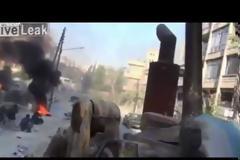 Συρία: 25λεπτο ποτ πουρί τρόμου και φρίκης στα πεδία των μαχών.(Video)