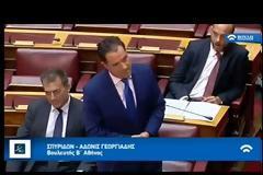 Άγρια κόντρα Αδωνι-Καμμένου στη Βουλή