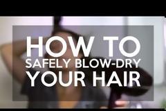 Πώς να κάνετε πιστολάκι στα μαλλιά χωρίς να καταστρέφονται οι τρίχες [video]