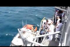 ΕΚΤΑΚΤΟ – Φλέγεται η τουρκική κορβέτα TCG Beykoz (F503) – 11 Τούρκοι μεταφέρθηκαν στα επείγοντα