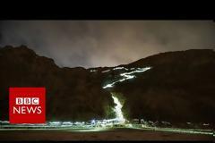 Η «απίστευτη» βιοφωταύγεια δίνει στην Καλιφόρνια μια απόκοσμη μπλε λάμψη [video]